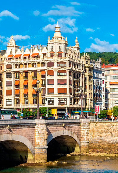 learn spanish in spain san sebastian