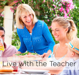 Learn spanish in spain living with the teacher program to learn spanish