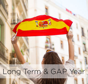 Learn spanish in spain long term & gap year